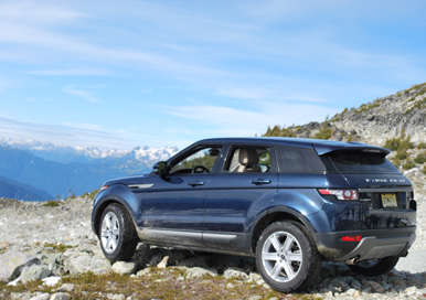 2012 Land Rover Range Rover Evoque: Competition