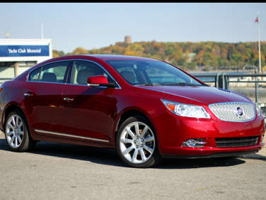 2011 buick lacrosse cxs road test and review. Black Bedroom Furniture Sets. Home Design Ideas