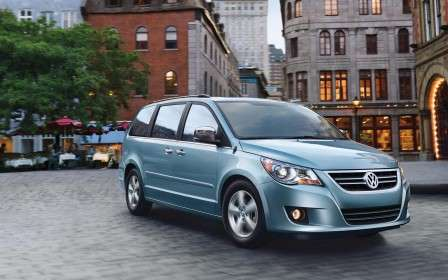 VW Routan Gives Volkswagen Industry Lead in Top Safety Picks