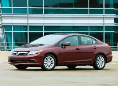 01. The 2012 Honda Civic Has Been Completely Redesigned