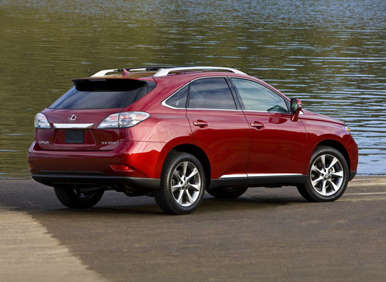 2012 lexus rx350 road test and review. Black Bedroom Furniture Sets. Home Design Ideas