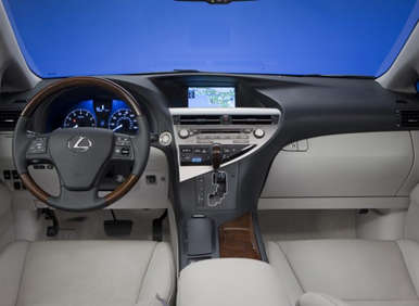 2012 Lexus RX350: Interior