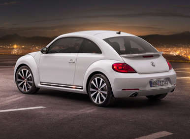 2012 VW Beetle Freshened With New Design, Better Mileage