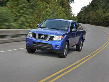 2012 Nissan Frontier Road Test and Review