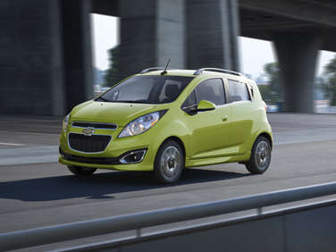 2013 Chevrolet Spark Mini-Car Details Released
