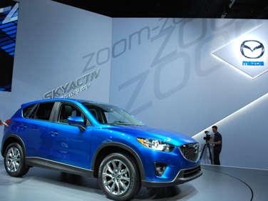 2011 L.A. Auto Show Debut: 2013 Mazda CX-5