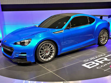 2011 LA Auto Show: The Subaru BRZ Coupe STi Marks Separation of Impreza WRX/STi Family