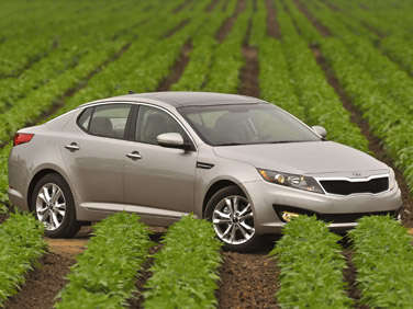 No Hybrids Allowed: Most Fuel-Efficient Family Sedans for 2012
