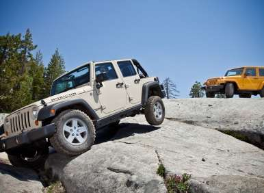 Jeep Dealer Offers Extensive Off-Road Test Track