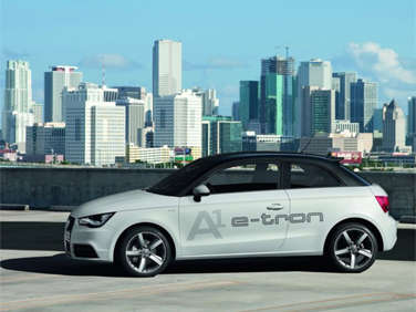 Audi Unveils Electric Mobility Program