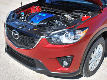 2013 Mazda CX-5 Gets 35 MPG Highway Rating