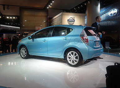Detroit Update - Toyota Introduces 2012 Toyota Prius c, NS4 Concept