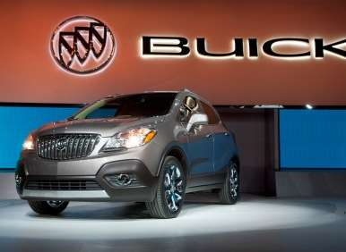 Detroit Update - Buick Introduces the 2013 Buick Encore Compact Crossover