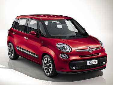 2013 Fiat 500L to Debut at Geneva Motor Show
