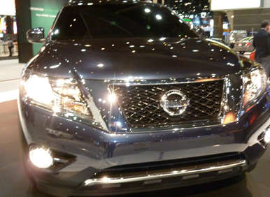 Nissan Prepares to Unveil 2013 Pathfinder Concept at the 2012 Chicago Auto Show