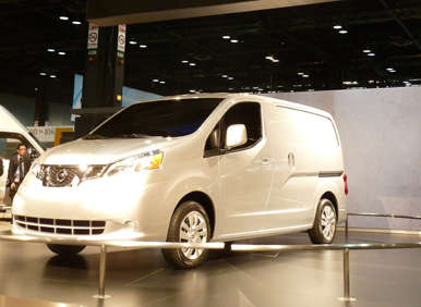 Nissan's New NV Gives Large Cargo Space within Small Footprint: