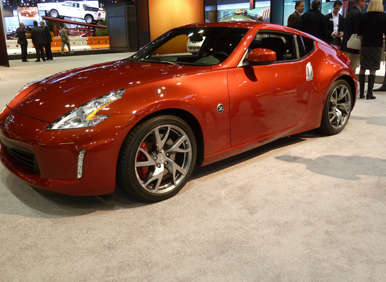 Nissan's Blows the Wraps off of its Refreshed Legendary Z-Car in the Windy City: