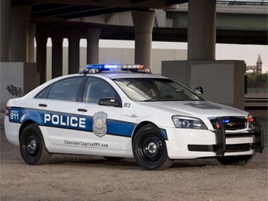 Chevrolet Caprice Police Patrol Vehicle Orders Delayed