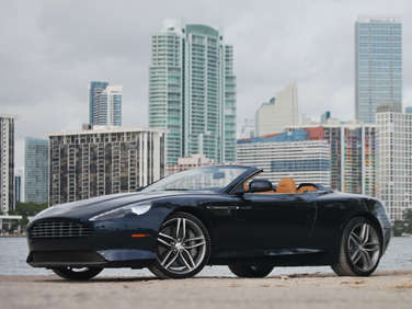 2012 Aston Martin Virage Volante Road Test and Review