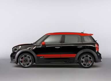 MINI John Cooper Worlks Countryman Is Most Powerful MINI Yet