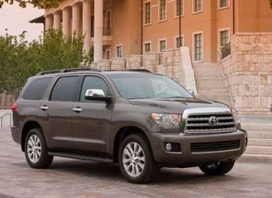 2012 Toyota Sequoia Platinum 4x4 Road Test and Review