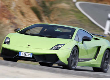 2012 Lamborghini Gallardo - Verde Ithaca Pearl Effect
