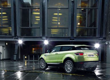 2012 Land Rover Range Rover Evoque - Colima Lime Green