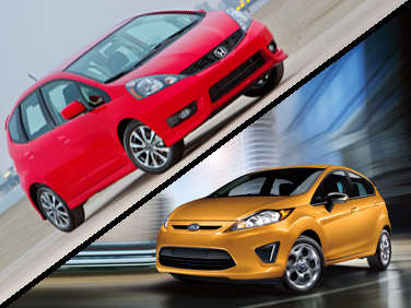 2012 Ford Fiesta vs. 2012 Honda Fit