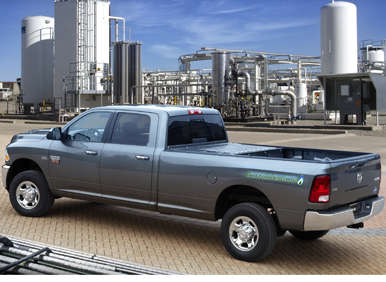 Ram Keeps Rolling with New Bi-fuel CNG Model and More