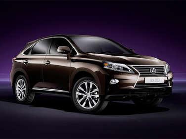 2012 Geneva Motor Show: 2013 Lexus RX