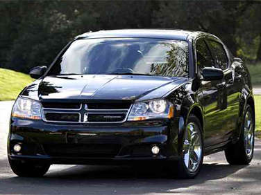 2012 Dodge Avenger to Offer V6 Value Model
