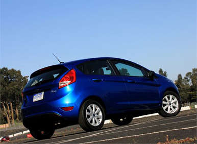 Safety: 2012 Ford Fiesta vs. 2012 Honda Fit