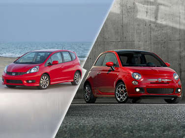 2012 Fiat 500 vs. 2012 Honda Fit