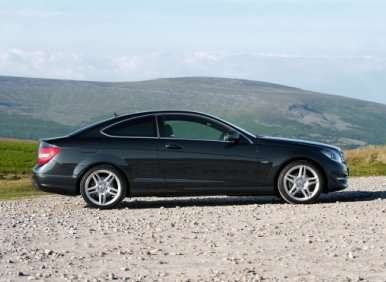 03. The 2012 Mercedes-Benz C-Class Coupe Offers Good Fuel Economy