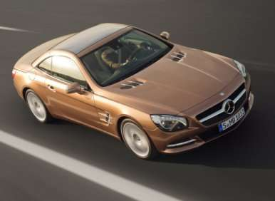 06.  The 2013 Mercedes-Benz SL Debuts Magic Vision Control