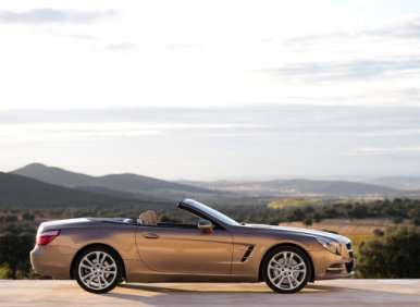03.  The 2013 Mercedes-Benz SL Offers A Unique Retractable Hardtop