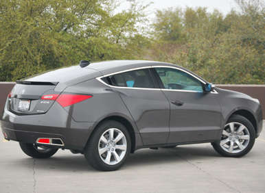 2012 Acura ZDX Road Test and Review