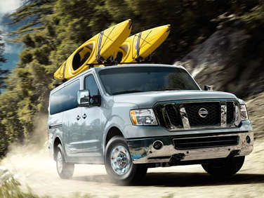 Pricing Set for 2012 Nissan NV Passenger Van