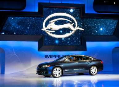 2014 Chevrolet Impala Debuts At New York Auto Show
