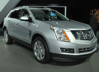 new york auto show 2013 cadillac srx. Black Bedroom Furniture Sets. Home Design Ideas