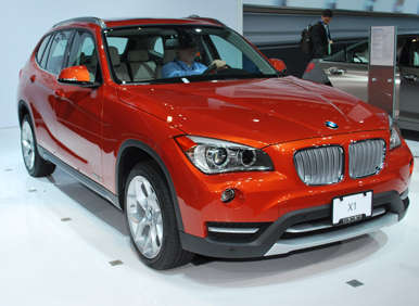 2013 BMW X1 Bows At New York Auto Show
