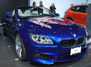 2012 / 2013 BMW M6 Makes American Debut At New York Auto Show