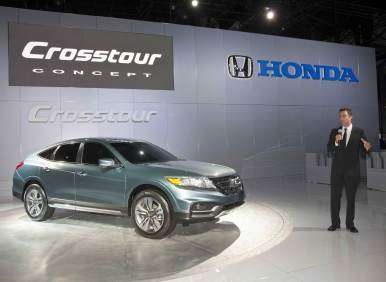 2013 Honda Crosstour Concept Maintains Status Quo At New York Auto Show