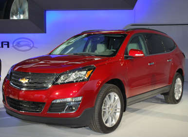 2013 Chevrolet Traverse Brings Refresh To New York Auto Show