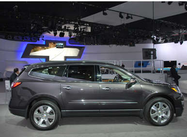 2013 Chevrolet Traverse Debut: Under The Hood