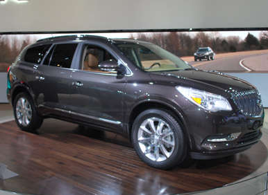 what s new the 2013 buick enclave gains a redesigned front fascia that