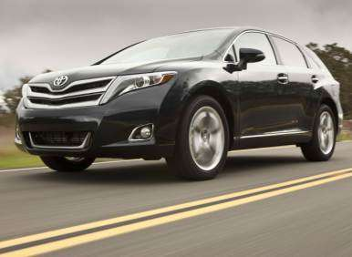 2013 Toyota Venza Debut: Competition
