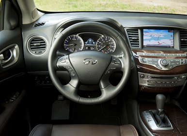 09.  The 2013 Infiniti JX  Is Very Comfortable To Drive