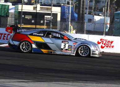 2015 Cadillac CTS-V Coupe Ends Run as World Challenge Champ