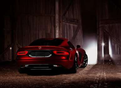 08.  The 2013 SRT Viper Can Be Ordered With The Track Package